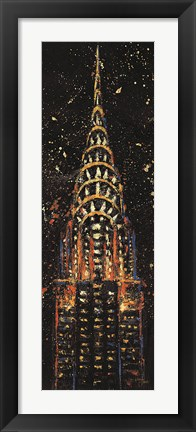Framed Cities at Night II Print