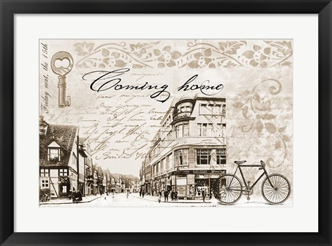 Framed Coming Home Print