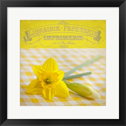 Framed Yellow Spring Print