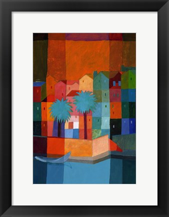 Framed By the Canal I Print