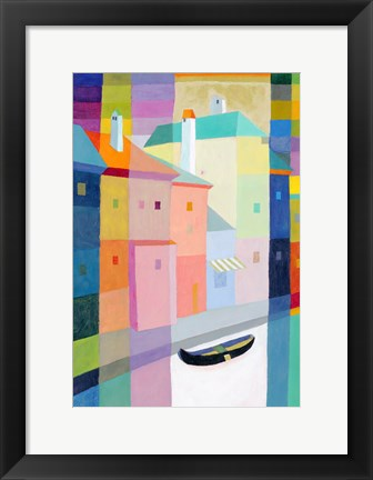 Framed By the Canal II Print