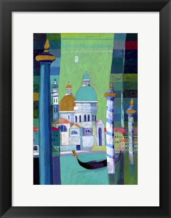 Framed Canals of Venice III Print