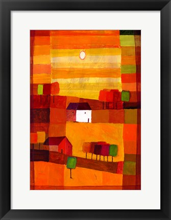 Framed Autumn Country II Print
