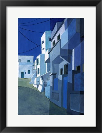 Framed Travel Architecture II Print