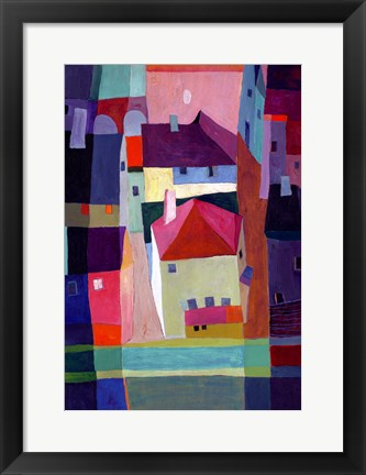 Framed Townscape Print