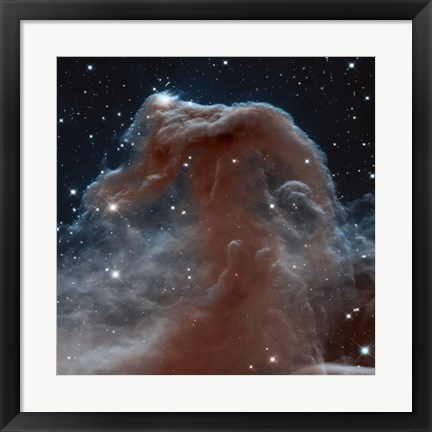 Framed Hubble Sees a Horsehead of a Different Color Print