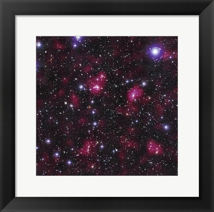 Framed Dark Matter Distribution in Supercluster Abell 901/902 Print