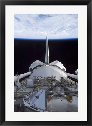 Framed Space Shuttle Discovery's Cargo Bay Print