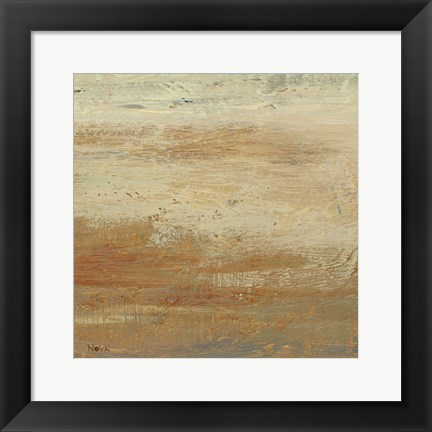 Framed Siena Abstract II Print