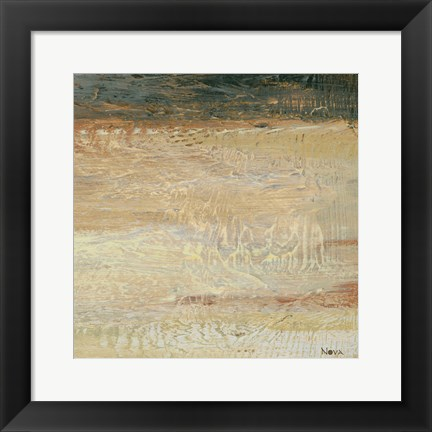 Framed Siena Abstract VI Print