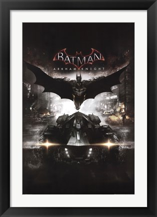 Framed Arkham Knight - Cover Print