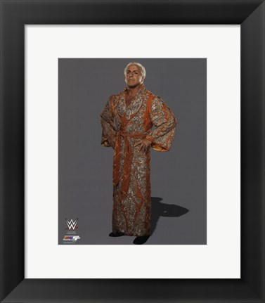 Framed Ric Flair Posed Print