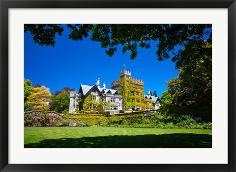 Framed Vancouver Island, Hately Gardens, Royal Roads Print