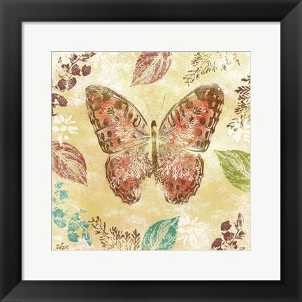 Framed Botanical Beauty II Print