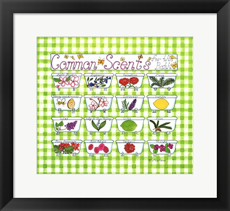 Framed Common Scents Print