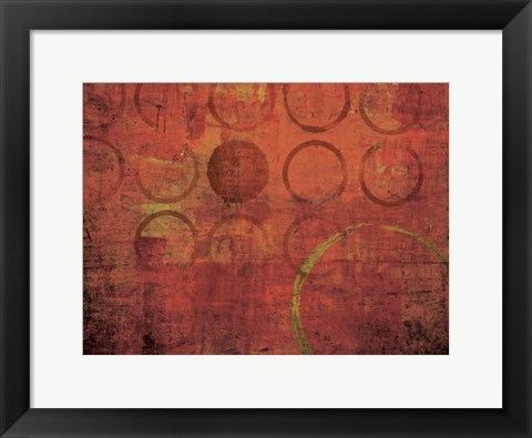 Framed Tiny Bubbles 1 Print