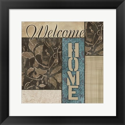 Framed Welcome Home Print