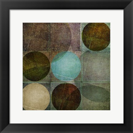 Framed Box of Circles A Print