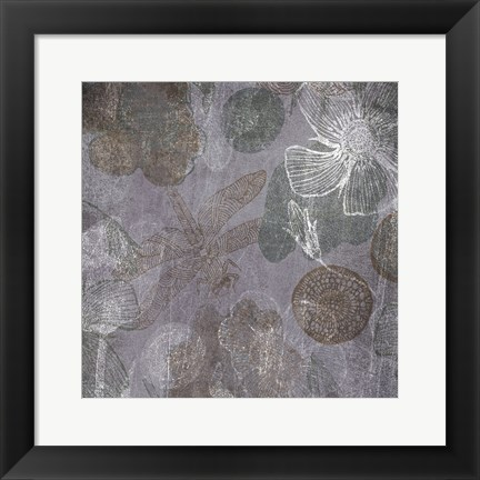 Framed Luxurious Intuition B Print