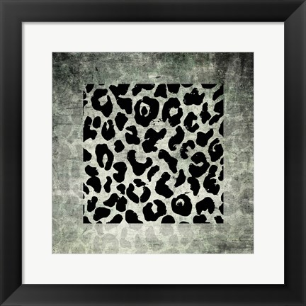 Framed Animal Instinct Leopard Print