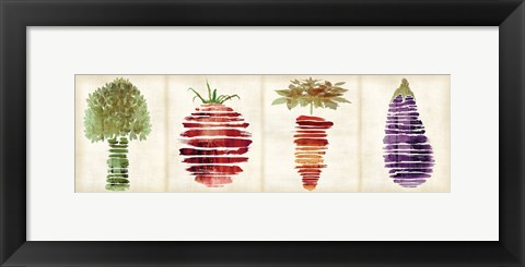 Framed Veggies A Print