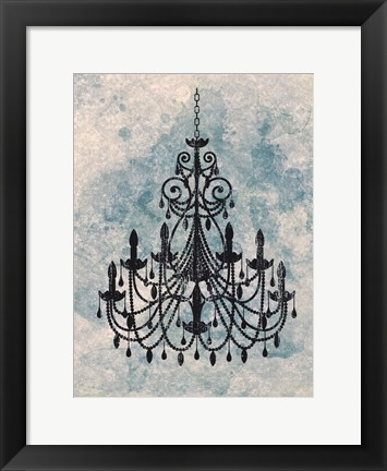 Framed Chandelier A Print