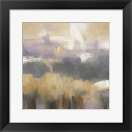 Framed Golden Field II Print