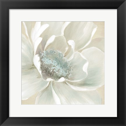 Framed Winter Blooms I Print