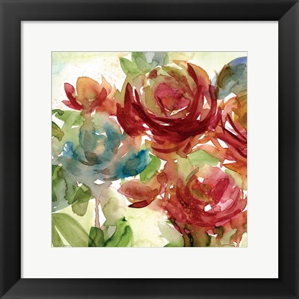 Framed Secret Garden II Print