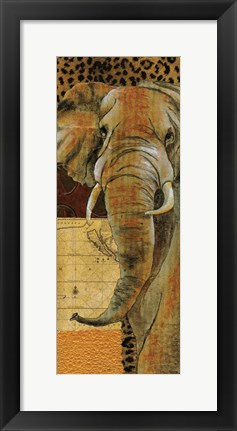 Framed Out of Africa II Print