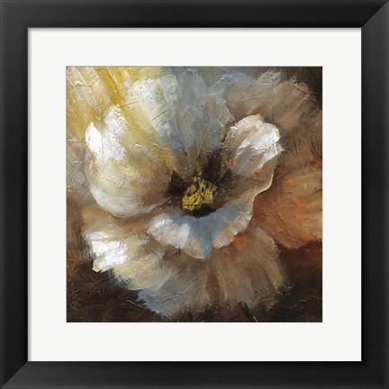 Framed Blooming II Print