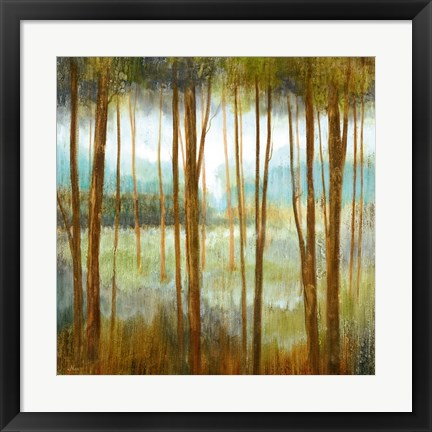 Framed Soft Forest I Print