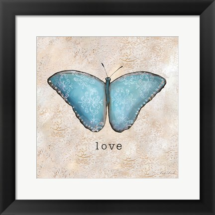 Framed Butterfly Expressions II Print