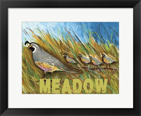 Framed High Country Meadow Print