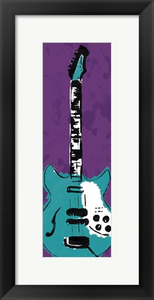 Framed Electric Guitar Print
