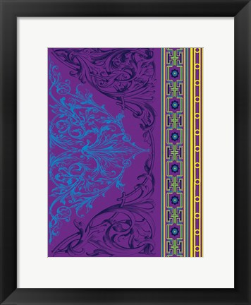 Framed Patterns 7 Print