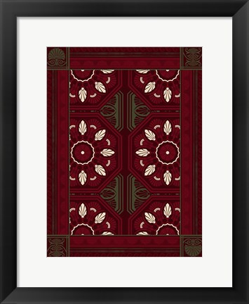 Framed Patterns 9 Print