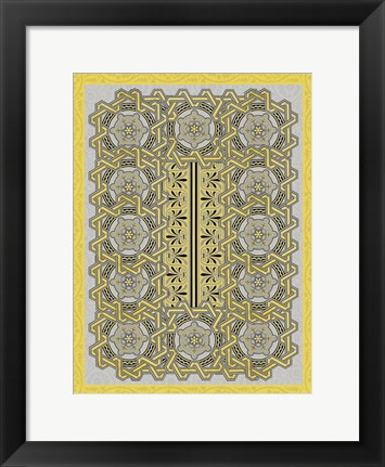 Framed Patterns 13 Print