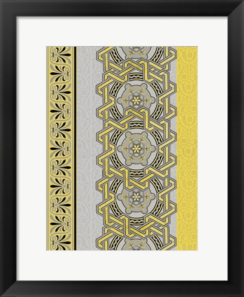 Framed Patterns 16 Print
