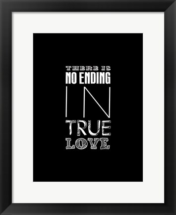 Framed True Love 2 Print