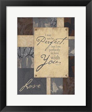 Framed Love Inspirational 2 Print