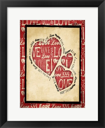 Framed Love 2 Print