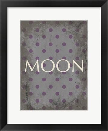Framed Moon Print
