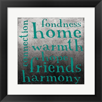 Framed Friends Print