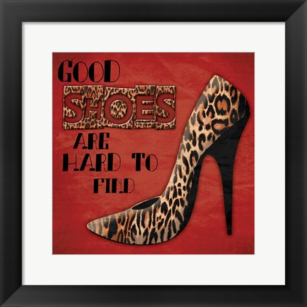 Framed Shoes 3 Print