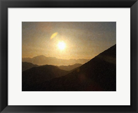 Framed Sunrise II Print