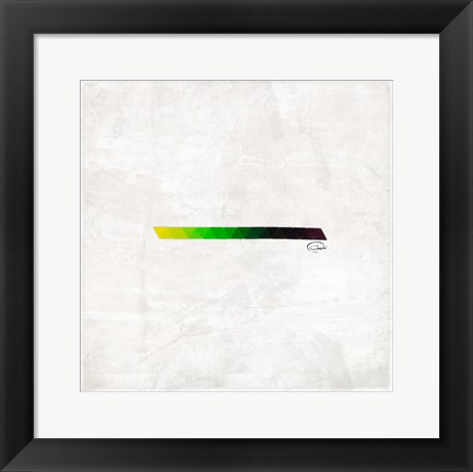 Framed Triangle Strip Print