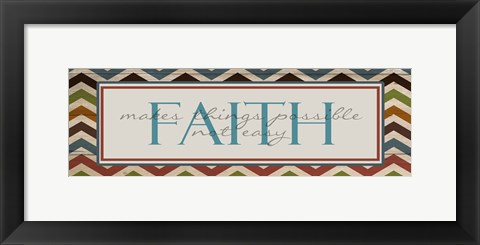 Framed Faith 1 Print