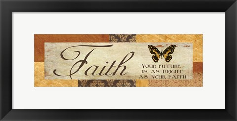 Framed Faith Your Future Print