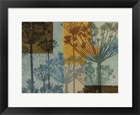 Framed Summer Breeze I Print